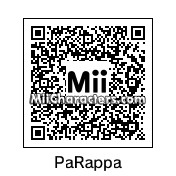 QR Code for PaRappa the Rapper by MiiMan3467