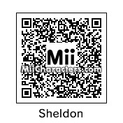 QR Code for Sheldon Cooper by Snintyeight