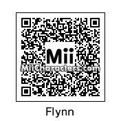 QR Code for Flynn White by Hisoka