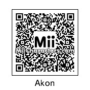 QR Code for Akon by Todd Beard