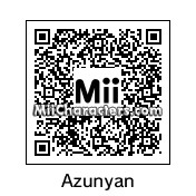 QR Code for Nakano Azusa by NXperience