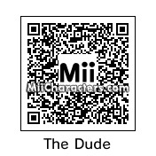 QR Code for Jeff Lebowski by Maverick