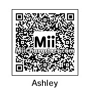 QR Code for Ashley Graham by Hisoka