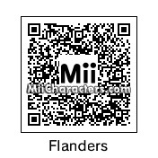 QR Code for Ned Flanders by Hisoka