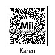 QR Code for Karen Kujou by Bobby64