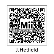 QR Code for James Hetfield by Aymeric