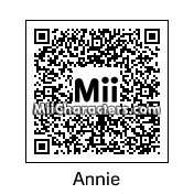 QR Code for Annie by gamekirby