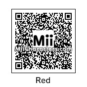 QR Code for Red by Nuttin