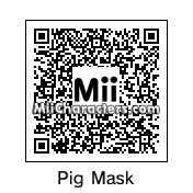 QR Code for Pig's Head Mask From Saw by !SiC