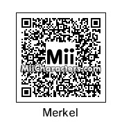 QR Code for Angela Dorothea Merkel Kasner by PoketendoNL