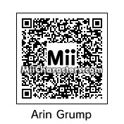 QR Code for Arin Grump by narphin ninja