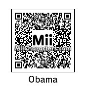 QR Code for Barack Hussein Obama by J1N2G