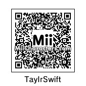 QR Code for Taylor Swift by Laura