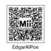 QR Code for Edgar Allan Poe by Mike