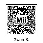 QR Code for Gwen Stefani by Chris