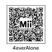 QR Code for Forever Alone by AlexRodrigFR