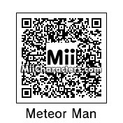 QR Code for The Meteor Man by Retrotator