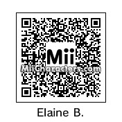 QR Code for Elaine Benes by celery