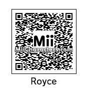 QR Code for Royce Melborn by tigrana