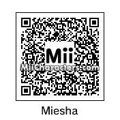 QR Code for Miesha Tate by Akiba24