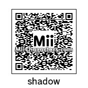 QR Code for Shadow The Hedgehog by tigrana