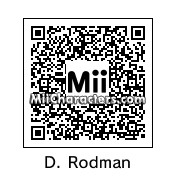 QR Code for Dennis Rodman by Cuba