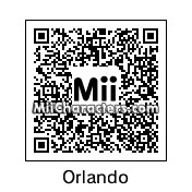 QR Code for Orlando Bloom by Tani