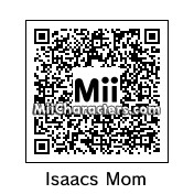 QR Code for Isaac's Mom by Crispy