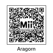 QR Code for Aragorn by Connor