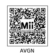 QR Code for The Angry Video Game Nerd by MisterJukebox8