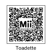 QR Code for Toadette by blackhorse