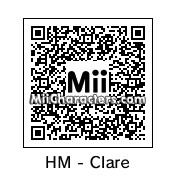 QR Code for Harvest Moon Clare by blackhorse