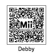 QR Code for Debby Ryan by J1N2G