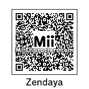 QR Code for Zendaya Coleman by J1N2G