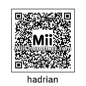 QR Code for Hadrian Blackwater by rhb