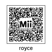 QR Code for Royce Melborn by rhb
