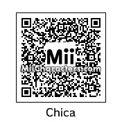 QR Code for Chica the Chicken by Legoskeleton