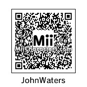 QR Code for John Waters by LanaSmellRey