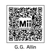 QR Code for GG Allin by LanaSmellRey