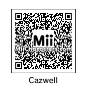 QR Code for Cazwell Christoph by Yumiru