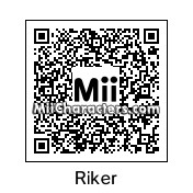 QR Code for William Riker by Cath