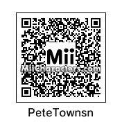 QR Code for Pete Townshend by Skippy