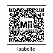 QR Code for Isabelle by Hoogomoogo