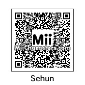 QR Code for Oh Sehun by yitaozi