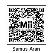 QR Code for Samus Aran by !SiC