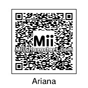 QR Code for Ariana Grande by rjagent