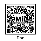 "QR Code for Jerome ""Doc"" Louis by J1N2G"