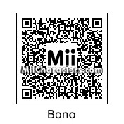 QR Code for Bono by Chris