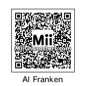 QR Code for Al Franken by Chris