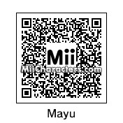 QR Code for Mayu Watanabe by MPD